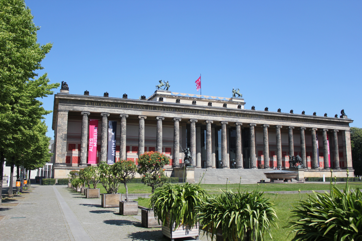 Altes Museum (old museum) on the Museum Island