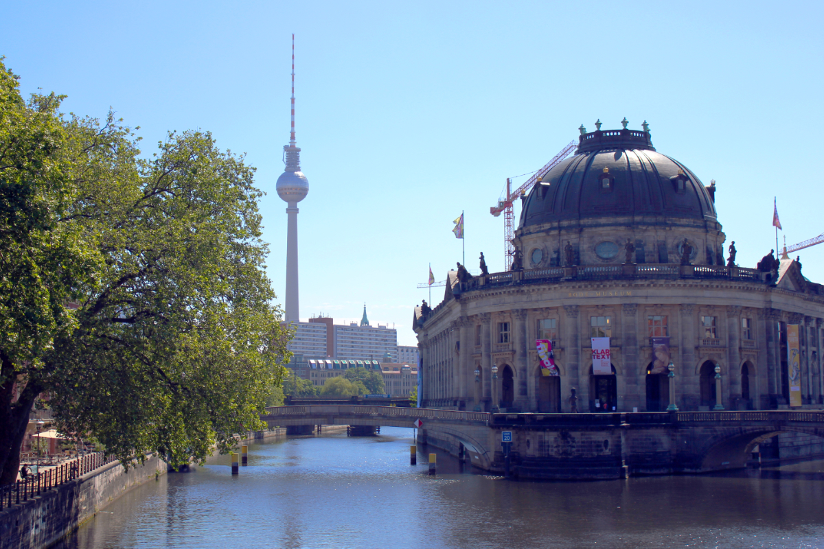 Bode Museum and Fernsehturm Berlin (Television Tower)